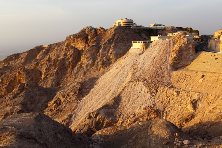 House on the Jabel Hafeet mountain by Al Ain