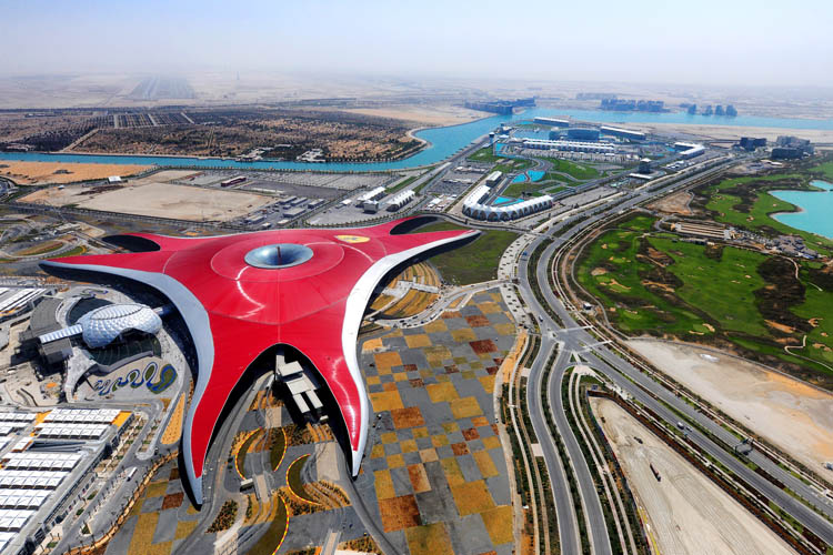World largest indoor amusement park in Abu Dhabi