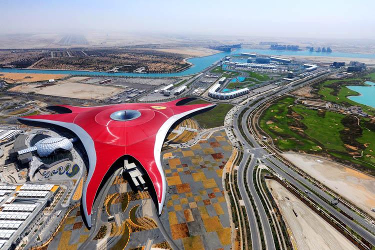 World largest indoor amusement park in Abu Dhabi