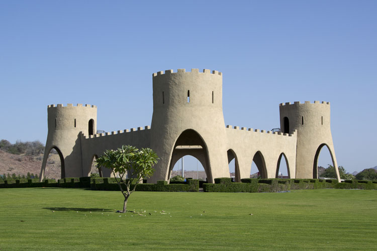 Fort in the town of Hatta