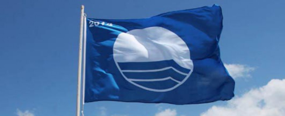 Blue flag was given to clean water on beaches in Dubai