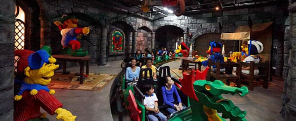 Hullámvasút Legolandban