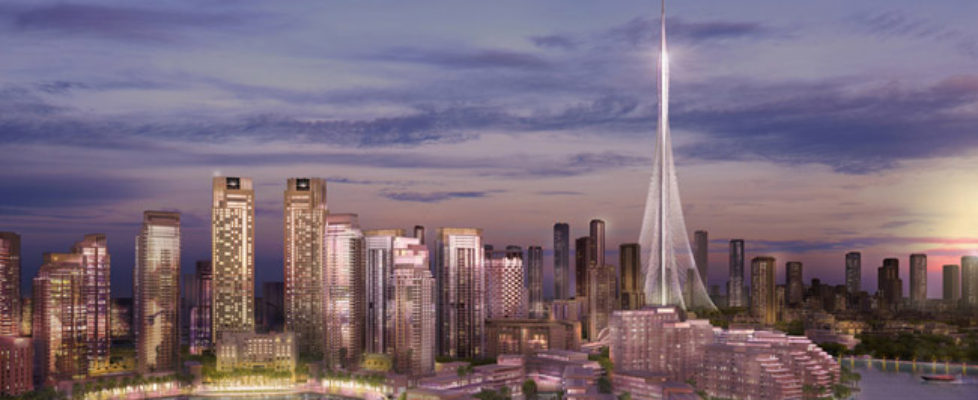 Really tall building to be built in Dubai