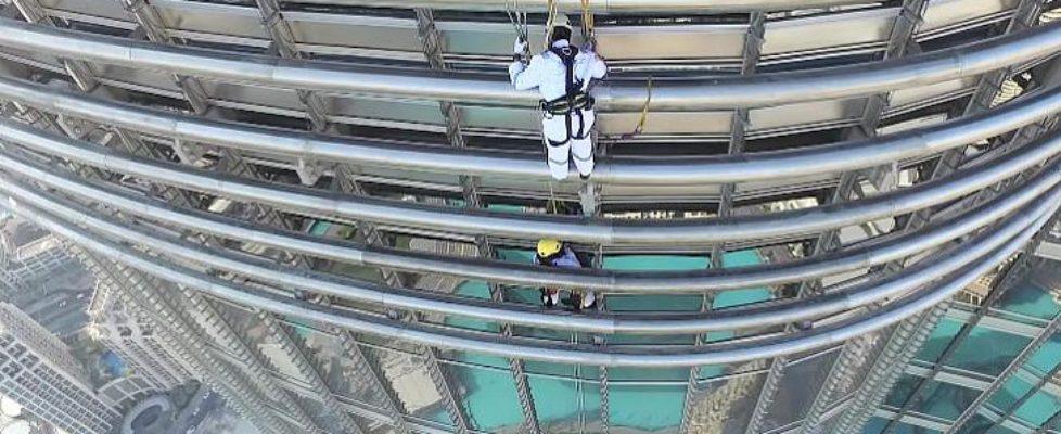 Burj Khalifa ledshow setup