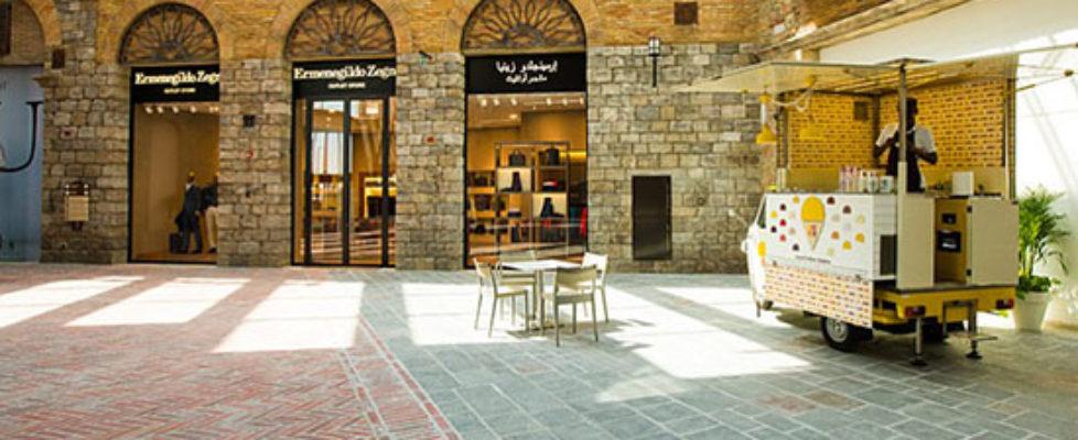 Mediterrán bevásárlő központ