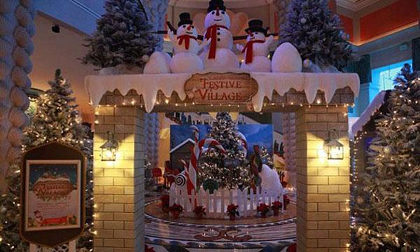 Christmas market in Dubai