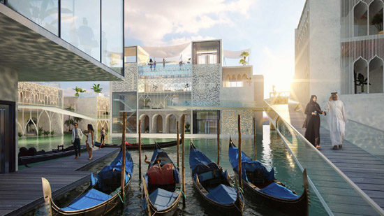 A copy of Venice is getting built in Dubai