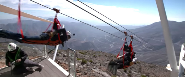 Zipline at Jebel Jais