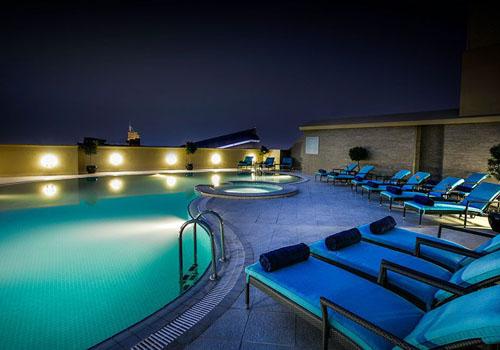 Elite Byblos Hotel Night Pool
